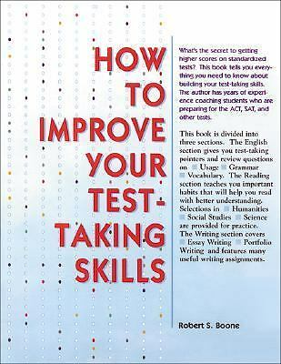 How to Improve Your Test Taking Skills, McGraw-Hill, Good Book