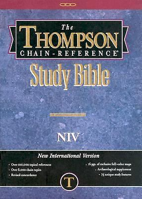 Thompson Chain Reference Bible (Style 823 index) - Regular Size NIV - Hardcover,