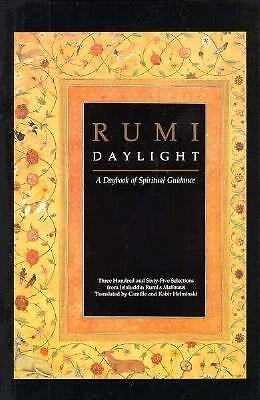 Daylight : A Daybook of Spiritual Guidance, Jalal al-Din Rumi, Good Book