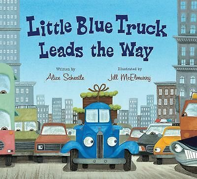 Little Blue Truck Leads the Way board book, Schertle, Alice, Good Book