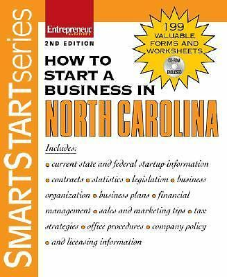 How to Start a Business in North Carolina, Entrepreneur Press, Good Book