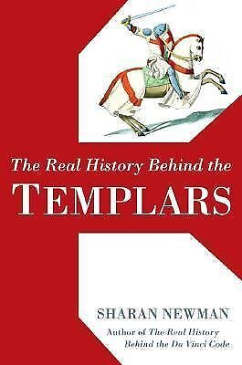 The Real History Behind the Templars, Sharan Newman, Good Condition, Book