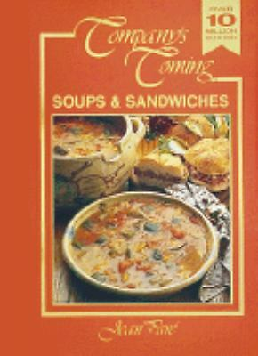 Soups & Sandwiches (Company's Coming), Pare, Jean, Good Condition, Book