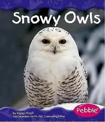 Snowy Owls (Pebble Books), Helen Frost, Good Condition, Book
