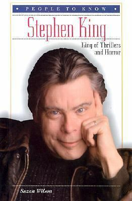 Stephen King: King of Thrillers and Horror (People to Know), Wilson, Suzan, Good