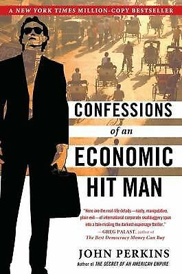 Confessions of an Economic Hit Man, John Perkins, Good Condition, Book