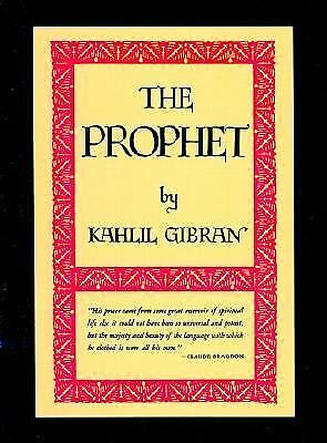 The Prophet (deluxe) by Gibran, Kahlil