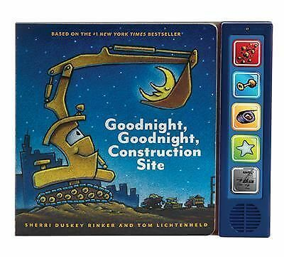 Goodnight, Goodnight Construction Site Sound Book by
