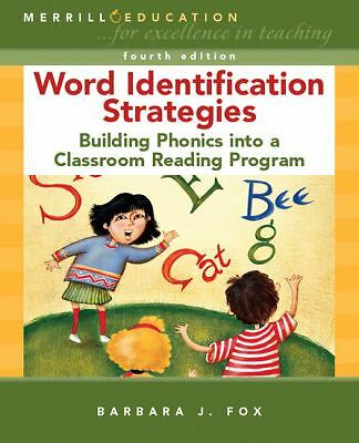 Word Identification Strategies: Building Phonics into a Classroom Reading Progra
