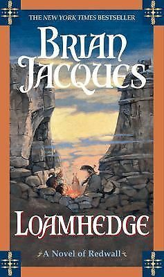 Loamhedge: A Novel of Redwall, Jacques, Brian, Good Condition, Book