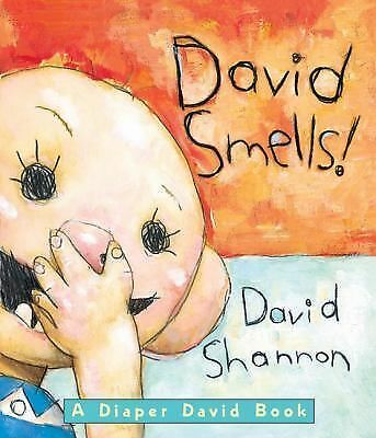 David Smells!: A Diaper David Book, Shannon, David, Good Book