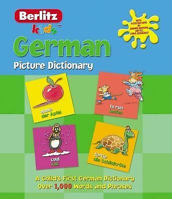 German Picture Dictionary (Kids Picture Dictionary), Berlitz, Good Book