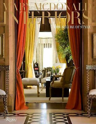Mary McDonald: Interiors: The Allure of Style, McDonald, Mary, Good Book