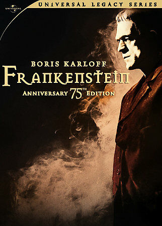 Frankenstein (75th Anniversary Edition) (Universal Legacy Series) by Boris Karl