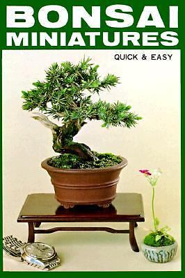 Bonsai Miniatures: Quick and Easy, Nakamura, Zeko, Good Book