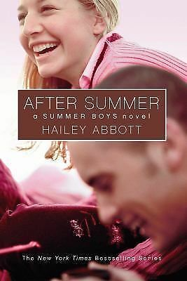 Summer Boys #3: After Summer, Abbott, Hailey, Good Condition, Book