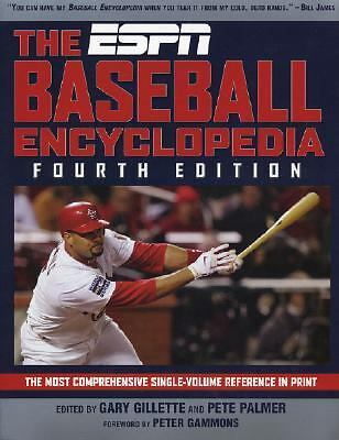 The ESPN Baseball Encyclopedia, Fourth Edition (ESPN Pro Baseball Encyclopedia),