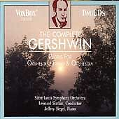 Gershwin: The Complete Works for Orchestra, Piano & Orchestra, , Good