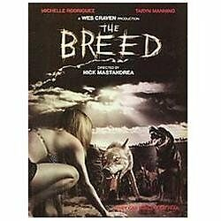 Wes Craven Presents The Breed, Good DVD, Michelle Rodriguez; Oliver Hudson; Tary