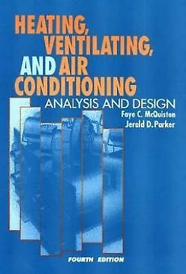 Heating, Ventilating, and Air Conditioning: Analysis and Design, 4th Edition, Pa