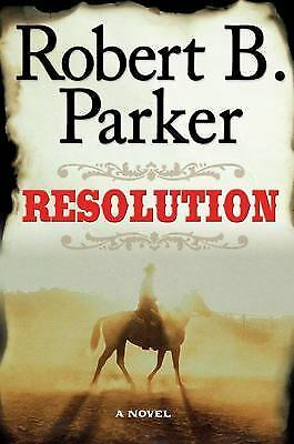 Resolution, Robert B. Parker, Good Condition, Book