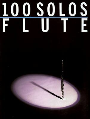 100 Solos: for Flute, , Good Condition, Book