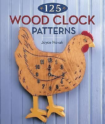 125 Wood Clock Patterns, Novak, Joyce, Good Condition, Book