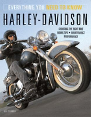Harley-Davidson Motorcycles: Everything You Need to Know, Stermer, Bill, Good Co