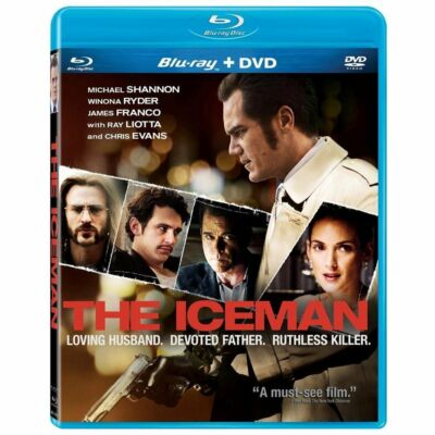 THE ICEMAN (Blu-ray Disc, 2013) New / Factory Sealed / Free Shipping