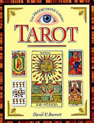 Tarot (Predictions Library), Barrett, David, Good Condition, Book