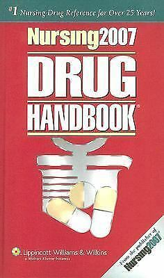 Nursing Drug Handbook 2007 (27th Edition), Springhouse, Good Condition, Book