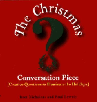 Christmas Conversation Piece, Nicholaus, Bret, Lowrie, Paul, Good Condition, Boo