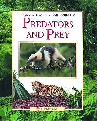 Predators and Prey (Secrets of the Rainforest), Chinery, Michael, Good Book