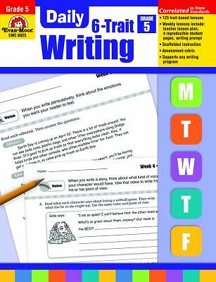 Daily 6-Trait Writing, Grade 5, Evan Moor, Good Book