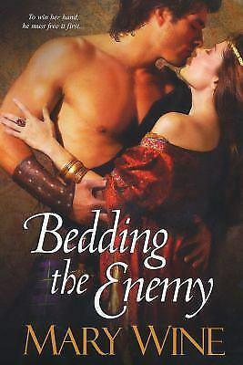 Bedding the Enemy, Mary Wine, Good Condition, Book