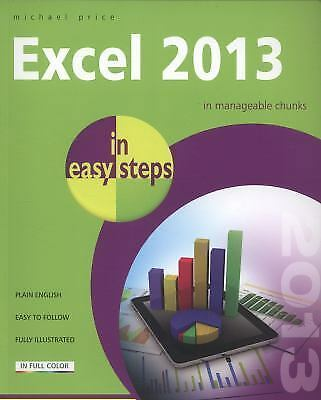 Excel 2013 in Easy Steps, Price, Michael, Good Condition, Book