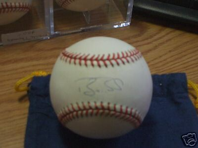 Barry Bonds JSA Certified Autographed OML Baseball