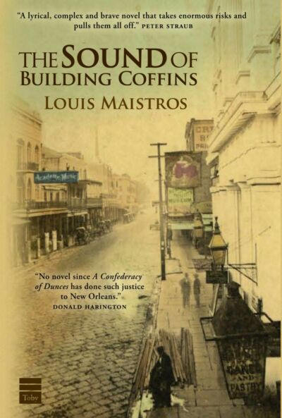 THE SOUND OF BUILDING COFFINS by Louis Maistros SIGNED
