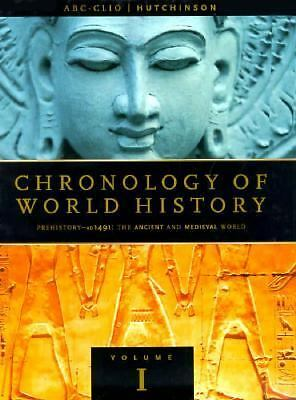 Chronology of World History (4 Volumes)  Helicon Publishing