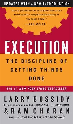 Execution: The Discipline of Getting Things Done - Larry Bossidy, Ram Charan, Ch