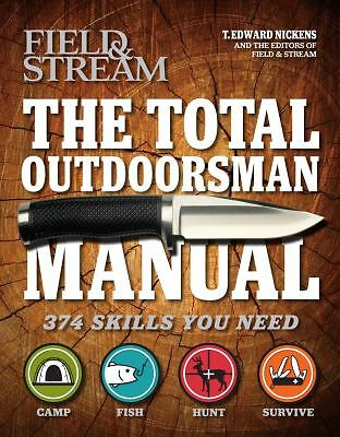 The Total Outdoorsman HC, Nickens, T. Edward, Good, Books