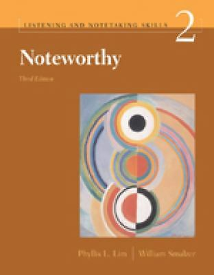 Noteworthy 2, Phyllis L. Lim, William Smalzer, Acceptable Book