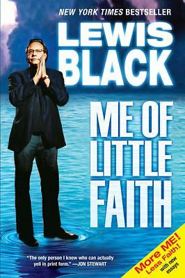 Me of Little Faith, Lewis Black, Acceptable Book