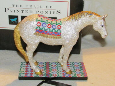 Trail of Painted Ponies 2003 Sequential: A Sequine 1E MIB Retired HTF Horse