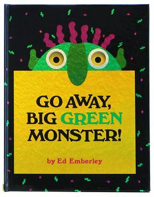 Go Away, Big Green Monster!, Ed Emberley, Acceptable Book