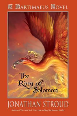 Bartimaeus: The Ring of Solomon - Stroud, Jonathan - Good Condition