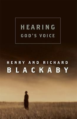 Hearing God's Voice by Blackaby, Henry, Blackaby, Richard