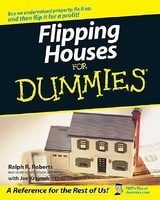 Flipping Houses For Dummies  Ralph R. Roberts