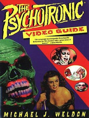 The Psychotronic Video Guide To Film, Weldon, Michael J., Acceptable Book