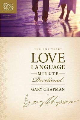 The One Year Love Language Minute Devotional (The One Year Signature Series), Ga